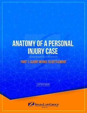 Anatomy of a Personal Injury Case Part 1