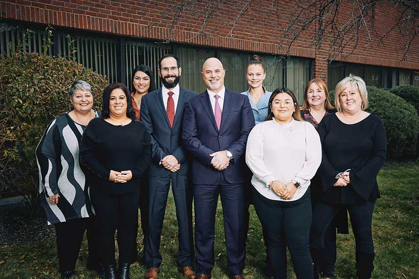 Spada Law Group team